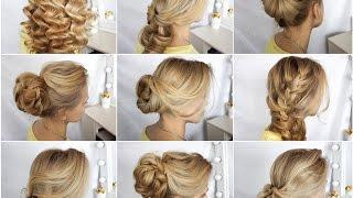 Как делать прически на негустых волосах