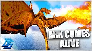 Ark: Survival Evolved - Ark Comes Alive Mod Part 1 - Public Server Launch , New Series? (Modded Ark)
