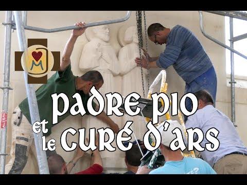 Monastère saint Joseph : saints Padre Pio et Jean-Marie Vianney