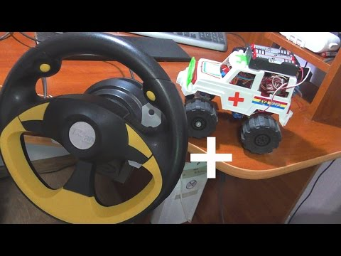 видео: Как подключить руль к радиоуправляемой машинке
