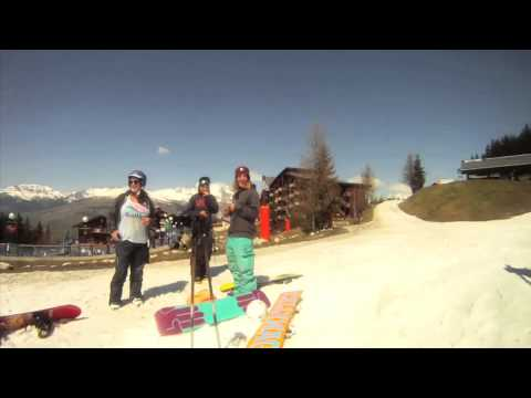 Shred Betty and the Moustache Riders - Session #002 - LES ARCS - 2014