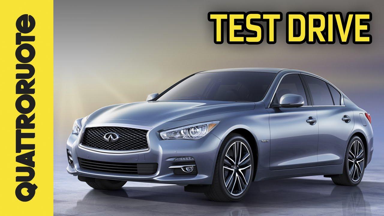 Infiniti q50 2015 test drive