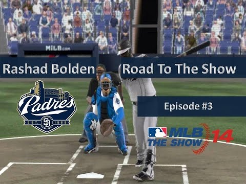 MLB '14: The Show (PS3) | Road to the Show w/Rashad Bolden | EP 3 | @ Drillers