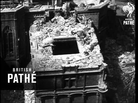 Schwab Mansion AKA Demolition Of Polish Castle (1948)