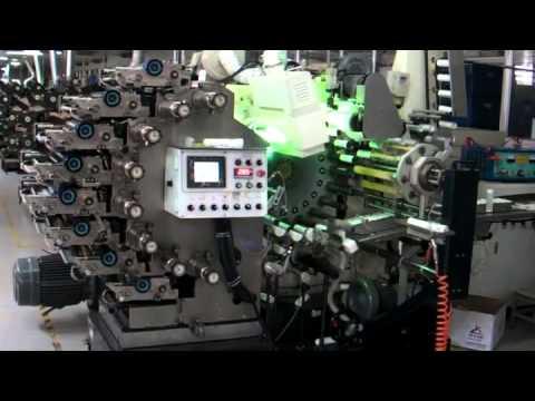 Plastic Tube 8 Color Printing Coating Drying Machine
