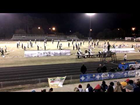 West Forsyth Marching Band at Ragsdale HS Competit