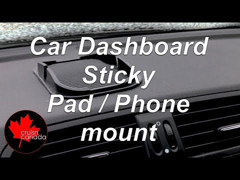 Non-Slip Mat Car Dashboard Sticky Pad Holder Mount For Cell Phone