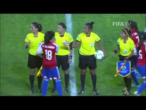 Match 24: Paraguay v Ghana - FIFA U-17 Women's World Cup 2016