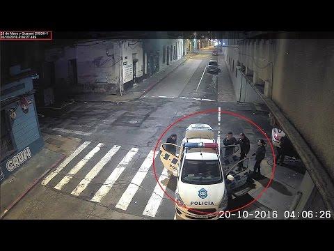 Videovigilancia: a prisión por rapiña en Ciudad Vieja