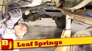 How To Install New Leaf Springs - Rough Country