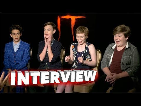 IT: Jack Dylan Grazer, Jaeden Lieberher, Sophia Lillis, and Jeremy Ray Taylor Exclusive Interview