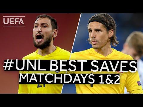 DONNARUMMA, SOMMER: #UNL BEST SAVES, Matchdays 1&2