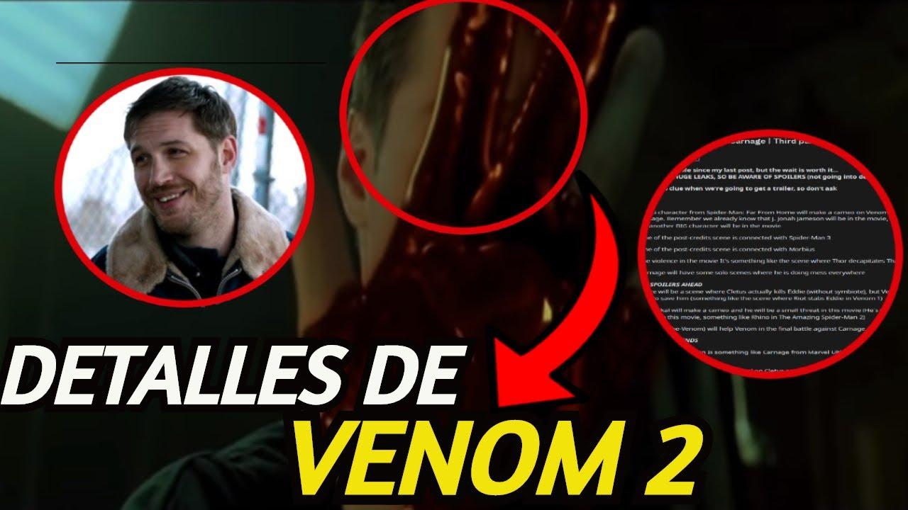 ¡Venom 2 Filtrado!, Detalles de la Entrega De Venom Let There Be Carnage, Teorías Frikis y Mas.