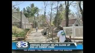CBS3 Springfield Massachusetts features Viridian Energy - Forest Park Zoo
