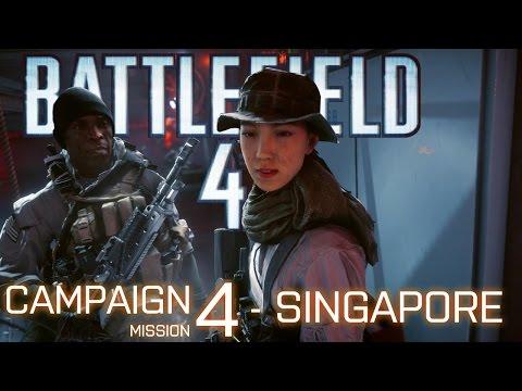 Battlefield 4 Campaign - SINGAPORE