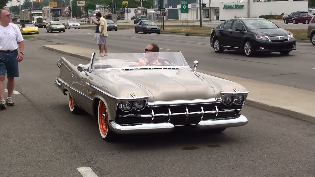 Custom 1959 Imperial Sdster. BEAUTIFUL! - YouTube
