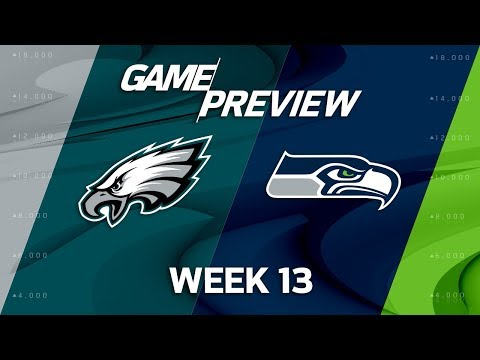 Philadelphia Eagles vs. Seattle Seahawks | NFL Week 13 Game Preview | Move the Sticks