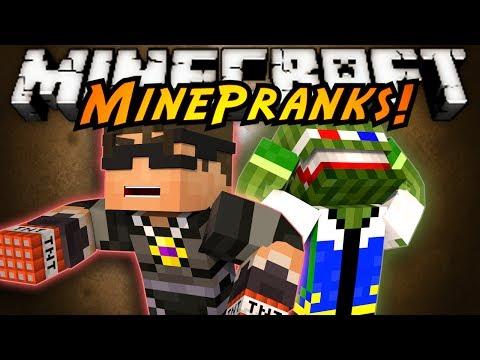 Minecraft MinePranks : PRANKING BASHURVERSE!