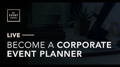 How to Become a Corporate Event Planner