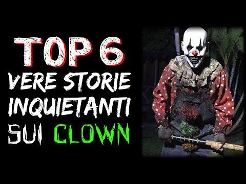 6 STORIE VERE ed INQUIETANTI sui CLOWN - CREEPY TRUE STORIES #02