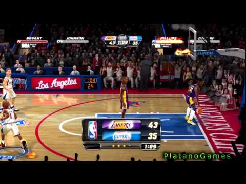 NBA JAM: On Fire Edition - LA Lakers vs LA Clippers - Full Online Game + Comeback! - HD