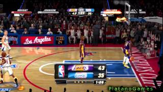 NBA JAM: On Fire Edition - LA Lakers vs LA Clippers - Full Online Game + Comeback! - HD