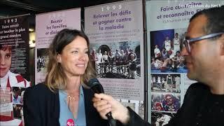 Charlie Nune - Comédienne -  Marraine de l'association ELA