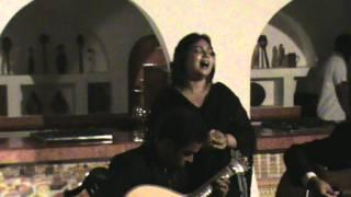 Sonia Shirsat-noite de Fado-hotel Cid.de Goa