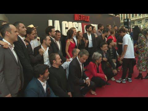Red carpet: Netflix's La Casa de Papel Season 3   AFP