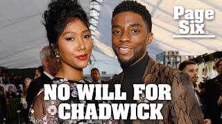 Chadwick Boseman died without a will, wife files probate case | Page Six Celebrity News