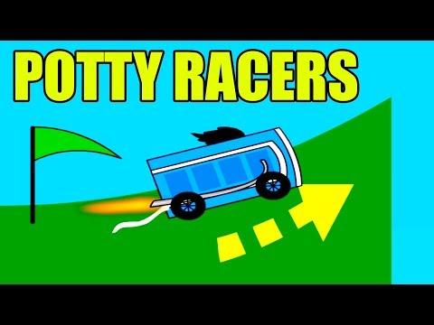 TOI TOI W KOSMOSIE! | POTTY RACERS #admiros