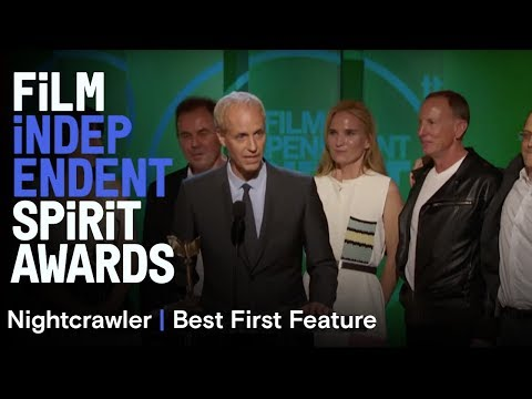 Dan Gilroy, Jennifer Fox, Tony Gilroy, Jake Gyllenhaal, David Lancaster & Michel Litvak wins Best Fi