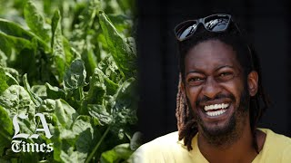 He's changing lawns into microfarms