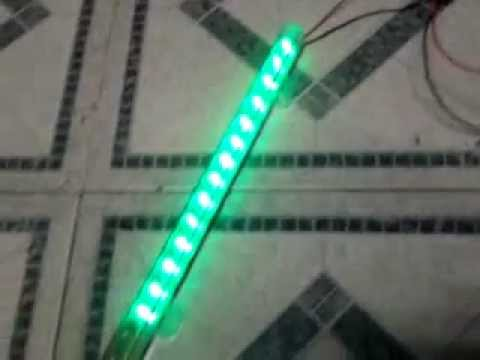 como hacer luces rtmicas para mini componente  YouTube