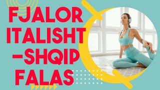 Gjuha Italiane .Mesimi 8. FJALOR I GJUHES ITALIANE perkthyer ne shqip