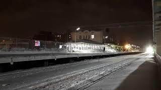 Ласточка поезд на Сортавалу без остановок на Удельной
