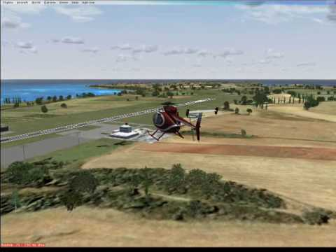 Landing at Wallblake Airport