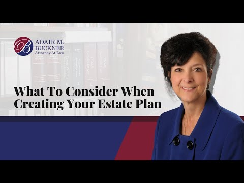 The key elements of an estate plan include: Will with possible trusts, statutory durable power of attorney, medical power of attorney and living will.