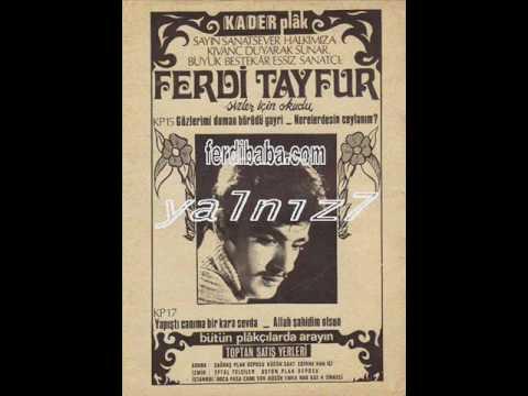 Ferdi Tayfur - Yapisti Canima Bir Kara Sevda - Kader Plak 17 (orjinal plak)