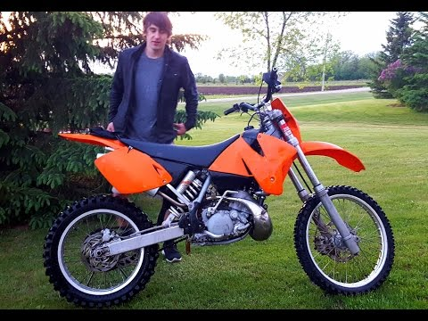 The New Ktm EXC 200!!!
