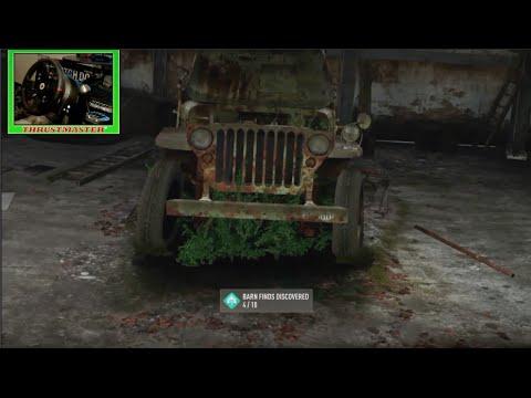 Forza Horizon 2 LP Ep13 Barn Find Time! w/Thrustmaster Wheel Cam (XB1) | SLAPTrain