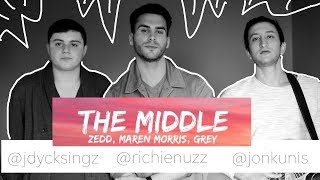 Download Lagu ZEDD, MAREN MORRIS, GREY - The Middle (Richie Nuzz, Kunis, Jordan Day acoustic cover) Mp3