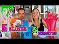 5 slimes en 5 minutos crazy slime challenge no te aburras haciendo slime mp4
