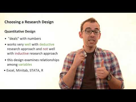 3.3 Qualitative and Quantitative Research Design