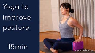 Yoga to improve posture (15min)