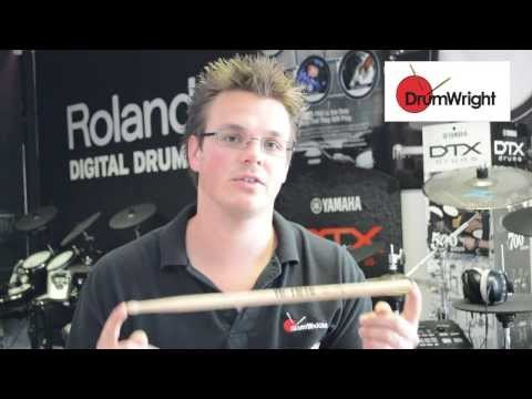 DrumWright Quick Guide to Vic Firth Charlie Watts Signature Sticks