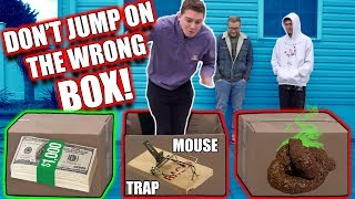 DON'T JUMP ON THE WRONG BOX CHALLENGE