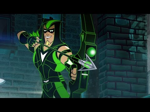 "DC Nation - Green Arrow - ""Brick"" (full)"