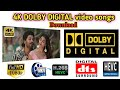 4K Dolby Digital - DTS 5.1 1080p HD video songs download செய்வது எப்படி || 4K Dolby DTS 5.1 || 3Tech