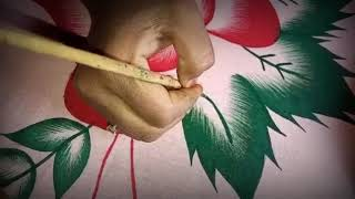 How to draw a flower, drawing and painting a flower for kid